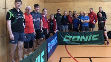 Teilnehmer Tischtennis-Vereinsmeisterschaften SC Eintracht Oberursel
